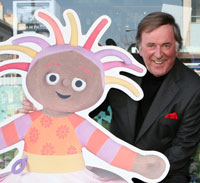 Upsy and Terry Wogan made a hot couple
